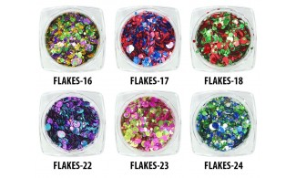 Metallic Flakes rosas