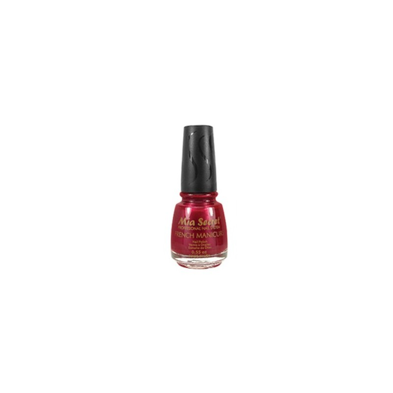 French Manicure Red apple