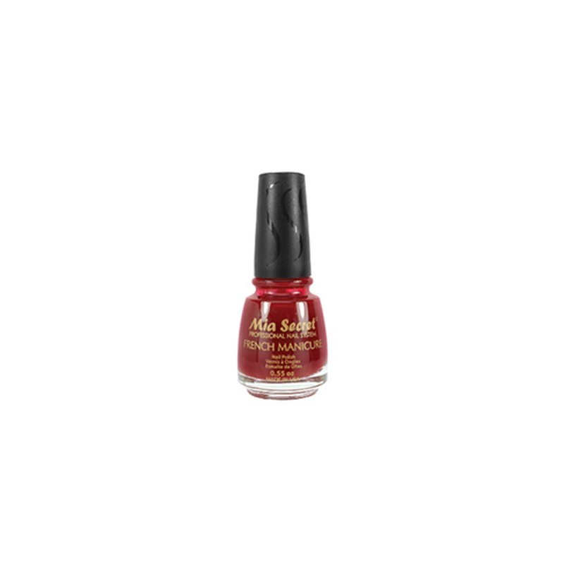 French Manicure Red