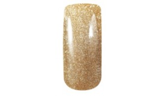 French Manicure Gold Stars