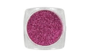 Metallic Flakes fucsia